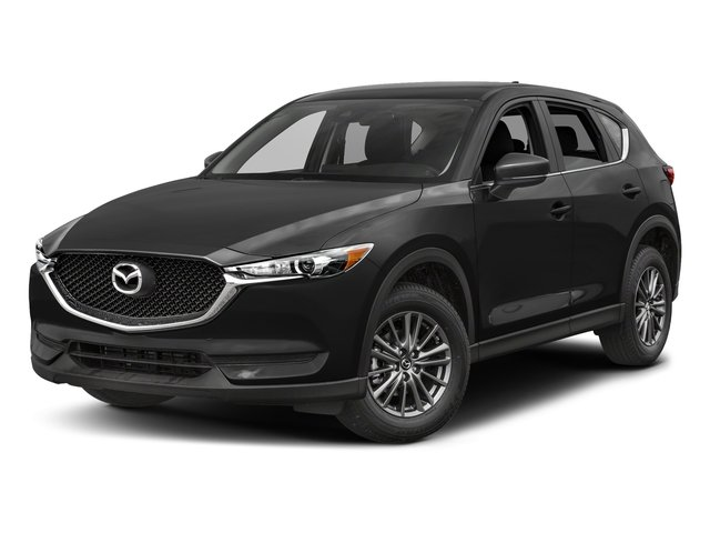 Jet Black Mica 2017 Mazda CX-5 Pictures CX-5 Utility 4D Sport AWD I4 photos front view