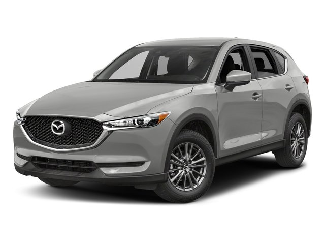 Sonic Silver Metallic 2017 Mazda CX-5 Pictures CX-5 Utility 4D Sport AWD I4 photos front view