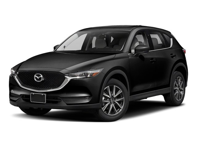 Jet Black Mica 2017 Mazda CX-5 Pictures CX-5 Utility 4D Grand Select 2WD photos front view