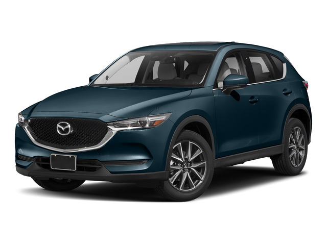 Deep Crystal Blue Mica 2017 Mazda CX-5 Pictures CX-5 Grand Select FWD photos front view