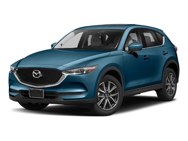 Eternal Blue Mica 2017 Mazda CX-5 Pictures CX-5 Utility 4D Grand Select 2WD photos front view