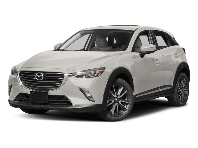Crystal White Pearl Mica 2017 Mazda CX-3 Pictures CX-3 Utility 4D GT AWD I4 photos front view