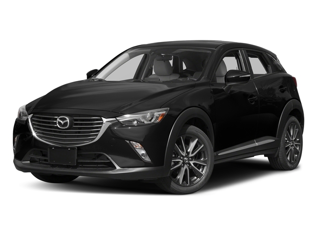 Jet Black Mica 2017 Mazda CX-3 Pictures CX-3 Utility 4D GT AWD I4 photos front view