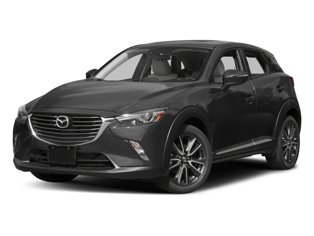 Meteor Gray Mica 2017 Mazda CX-3 Pictures CX-3 Utility 4D GT AWD I4 photos front view