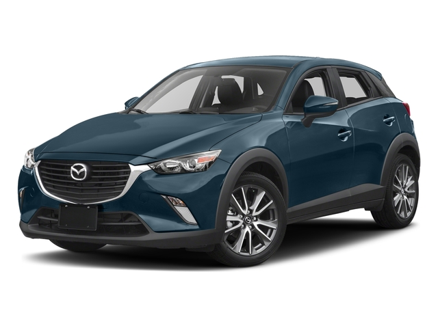 Deep Crystal Blue Mica 2017 Mazda CX-3 Pictures CX-3 Touring FWD photos front view