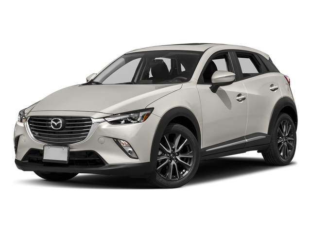 Crystal White Pearl Mica 2017 Mazda CX-3 Pictures CX-3 Utility 4D GT 2WD I4 photos front view