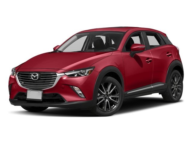 Soul Red Metallic 2017 Mazda CX-3 Pictures CX-3 Utility 4D GT 2WD I4 photos front view