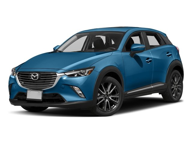 Dynamic Blue Mica 2017 Mazda CX-3 Pictures CX-3 Utility 4D GT 2WD I4 photos front view