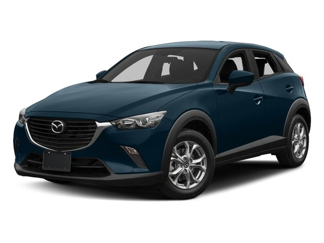 Deep Crystal Blue Mica 2017 Mazda CX-3 Pictures CX-3 Utility 4D Sport AWD I4 photos front view