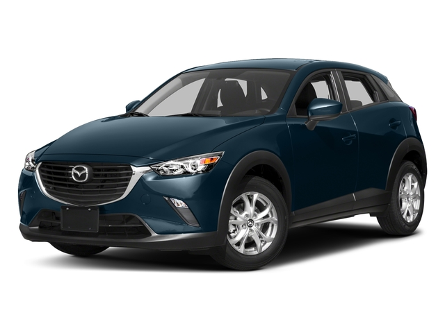 Deep Crystal Blue Mica 2017 Mazda CX-3 Pictures CX-3 Utility 4D Sport 2WD I4 photos front view