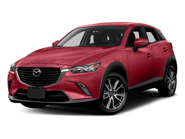 Soul Red Metallic 2017 Mazda CX-3 Pictures CX-3 Touring AWD photos front view
