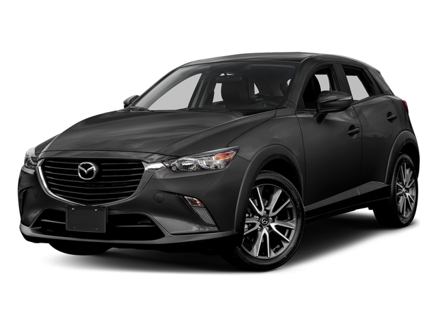 Jet Black Mica 2017 Mazda CX-3 Pictures CX-3 Utility 4D Touring AWD I4 photos front view