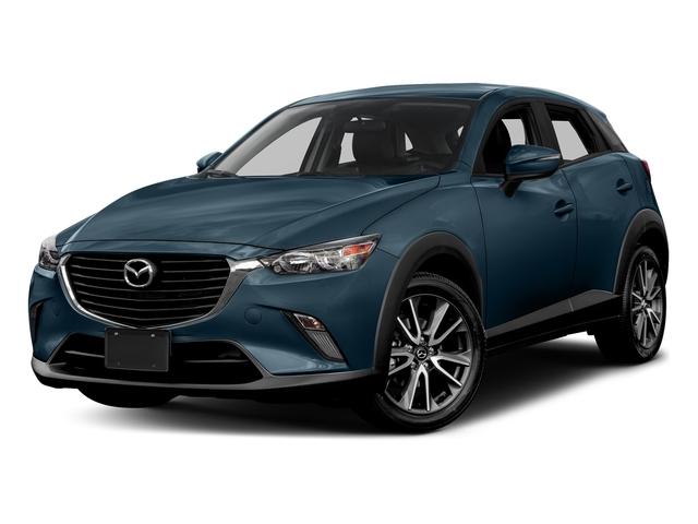 Deep Crystal Blue Mica 2017 Mazda CX-3 Pictures CX-3 Utility 4D Touring AWD I4 photos front view