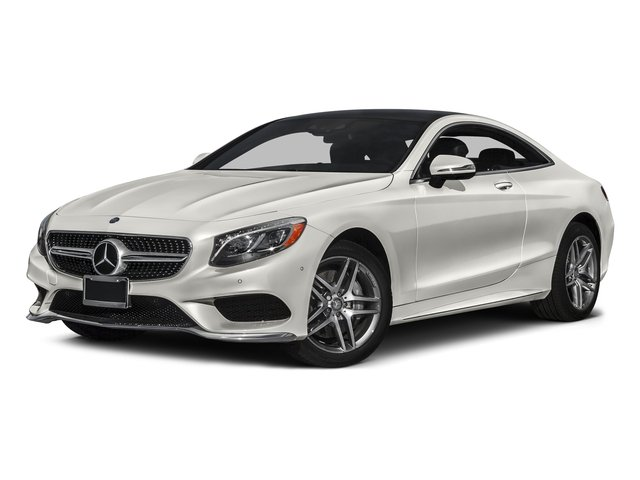 designo Magno Cashmere White (Matte Finish) 2017 Mercedes-Benz S-Class Pictures S-Class Coupe 2D S550 AWD V8 Turbo photos front view
