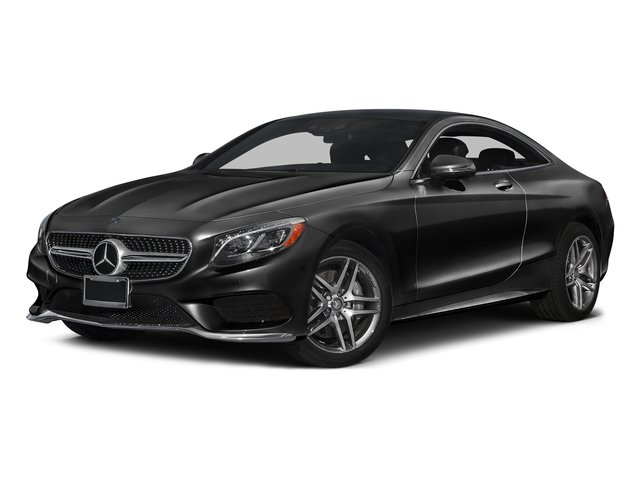 Magnetite Black Metallic 2017 Mercedes-Benz S-Class Pictures S-Class S 550 4MATIC Coupe photos front view