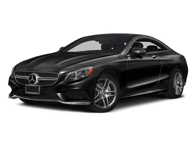 Obsidian Black Metallic 2017 Mercedes-Benz S-Class Pictures S-Class S 550 4MATIC Coupe photos front view