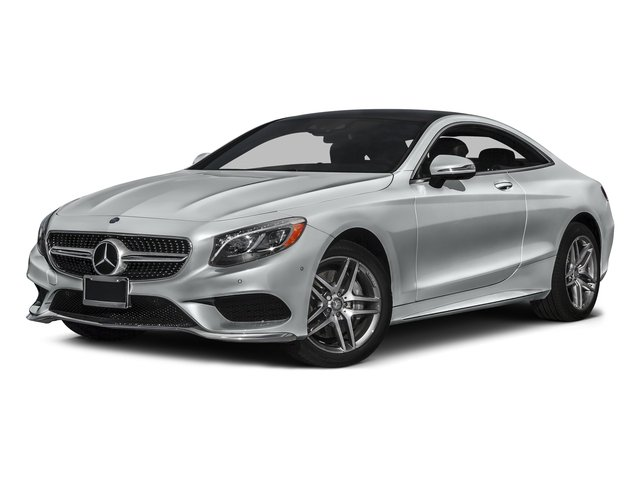 Iridium Silver Metallic 2017 Mercedes-Benz S-Class Pictures S-Class S 550 4MATIC Coupe photos front view