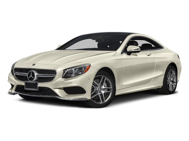 designo Diamond White Metallic 2017 Mercedes-Benz S-Class Pictures S-Class Coupe 2D S550 AWD V8 Turbo photos front view