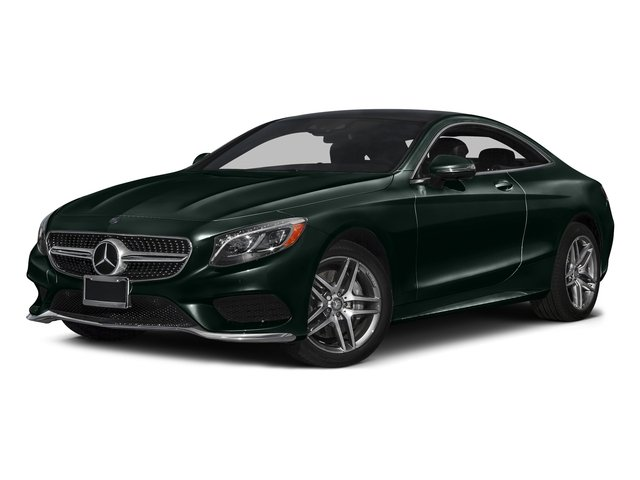 Emerald Green Metallic 2017 Mercedes-Benz S-Class Pictures S-Class S 550 4MATIC Coupe photos front view