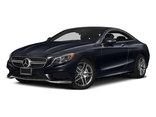 Anthracite Blue Metallic 2017 Mercedes-Benz S-Class Pictures S-Class S 550 4MATIC Coupe photos front view