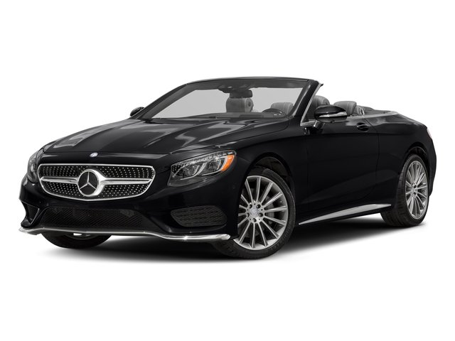 Black 2017 Mercedes-Benz S-Class Pictures S-Class Convertible 2D S550 V8 Turbo photos front view