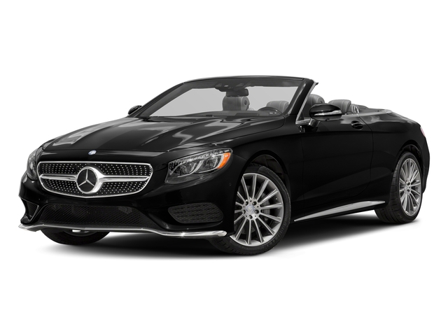 Magnetite Black Metallic 2017 Mercedes-Benz S-Class Pictures S-Class Convertible 2D S550 V8 Turbo photos front view