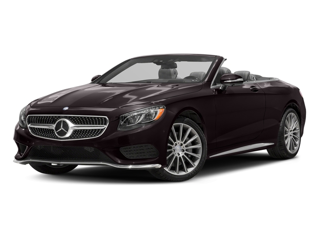 Ruby Black Metallic 2017 Mercedes-Benz S-Class Pictures S-Class Convertible 2D S550 V8 Turbo photos front view