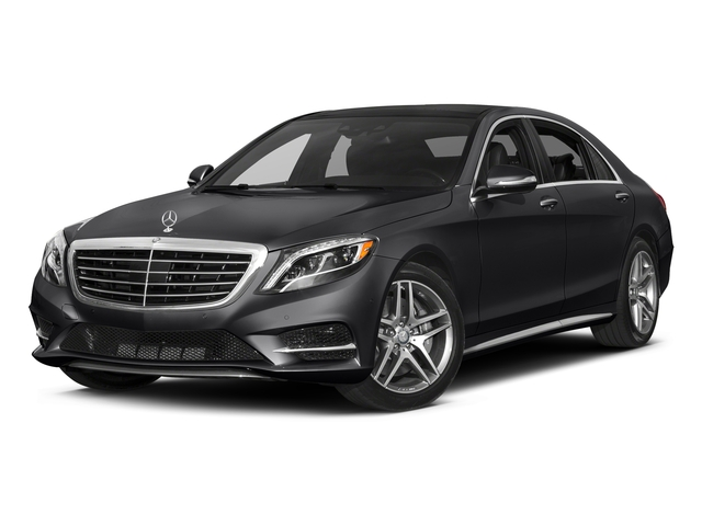 Black 2017 Mercedes-Benz S-Class Pictures S-Class Sedan 4D S550 V8 Turbo photos front view