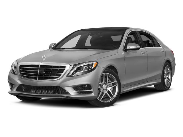 designo Magno Alanite Grey (Matte Finish) 2017 Mercedes-Benz S-Class Pictures S-Class S 550 4MATIC Sedan photos front view