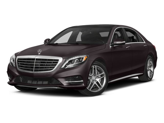 Ruby Black Metallic 2017 Mercedes-Benz S-Class Pictures S-Class Sedan 4D S550 V8 Turbo photos front view