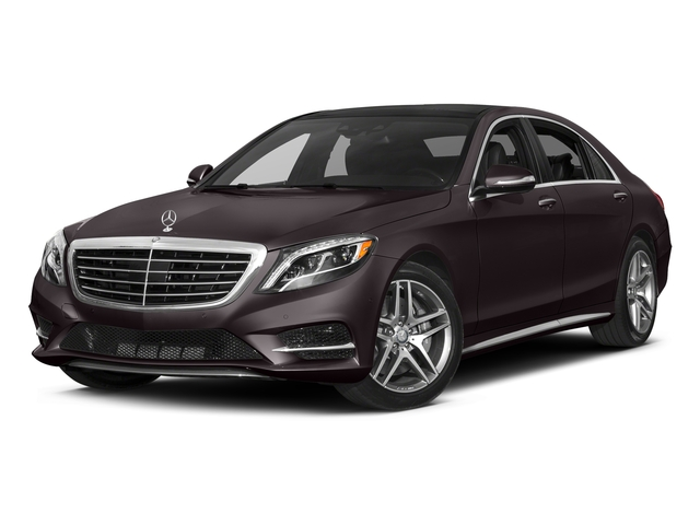 Ruby Black Metallic 2017 Mercedes-Benz S-Class Pictures S-Class S 550 Sedan photos front view