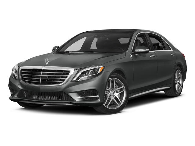 Selenite Grey Metallic 2017 Mercedes-Benz S-Class Pictures S-Class Sedan 4D S550 V8 Turbo photos front view