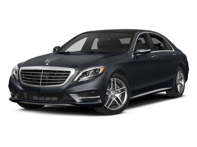 Anthracite Blue Metallic 2017 Mercedes-Benz S-Class Pictures S-Class S 550 Sedan photos front view
