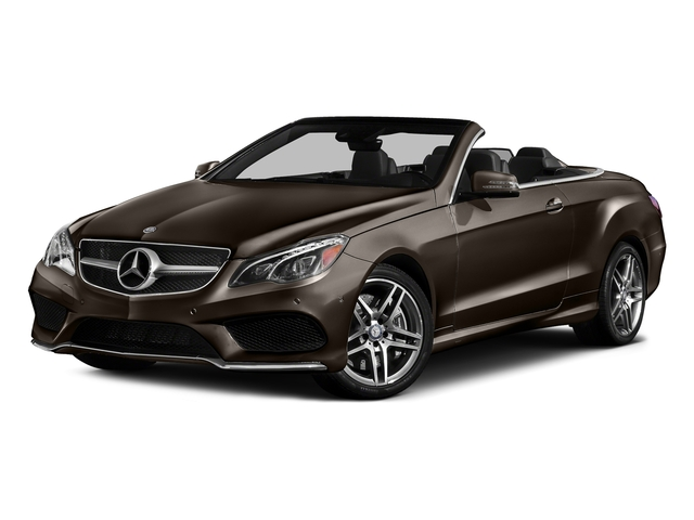 Dolomite Brown Metallic 2017 Mercedes-Benz E-Class Pictures E-Class E 550 RWD Cabriolet photos front view