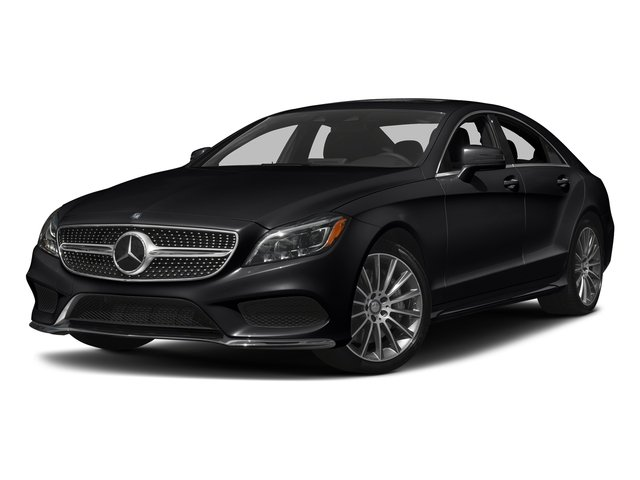 Black 2017 Mercedes-Benz CLS Pictures CLS CLS 550 4MATIC Coupe photos front view