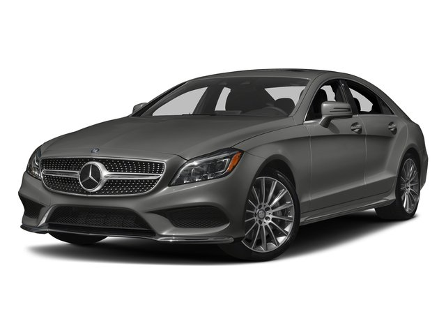 designo Magno Selenite Grey (Matte Finish) 2017 Mercedes-Benz CLS Pictures CLS CLS 550 4MATIC Coupe photos front view