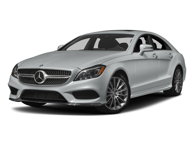 Iridium Silver Metallic 2017 Mercedes-Benz CLS Pictures CLS CLS 550 4MATIC Coupe photos front view