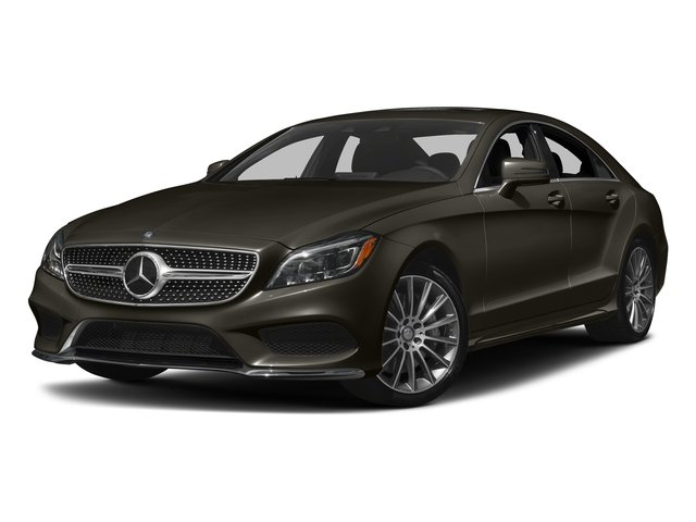 Dakota Brown Metallic 2017 Mercedes-Benz CLS Pictures CLS CLS 550 4MATIC Coupe photos front view