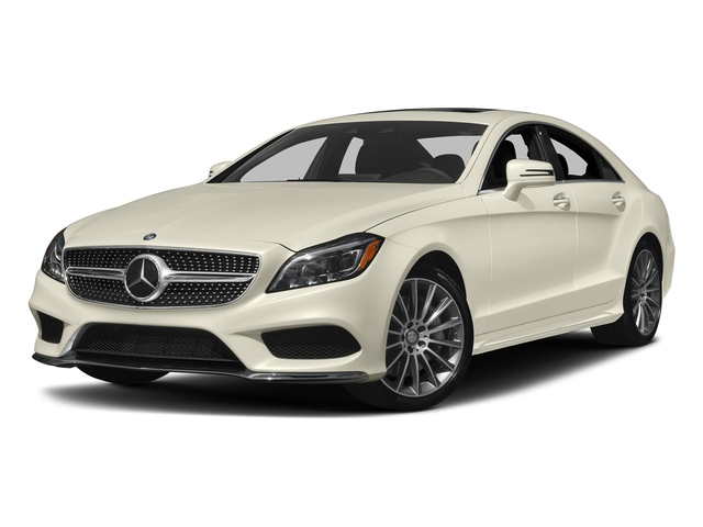 designo Diamond White Metallic 2017 Mercedes-Benz CLS Pictures CLS CLS 550 4MATIC Coupe photos front view