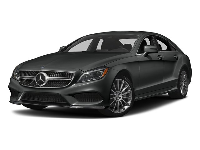Selenite Grey Metallic 2017 Mercedes-Benz CLS Pictures CLS CLS 550 4MATIC Coupe photos front view