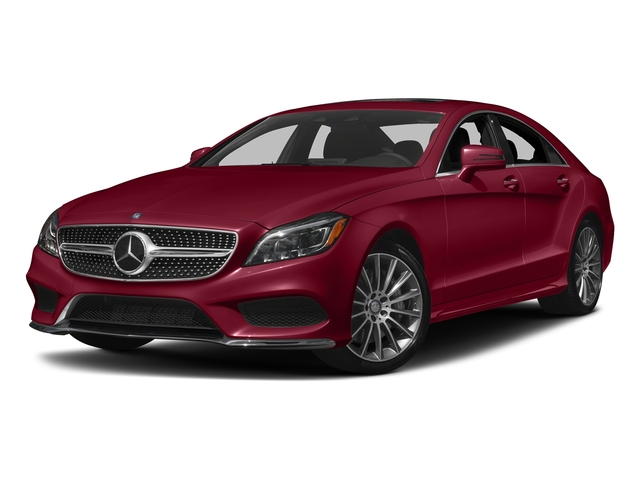 designo Cardinal Red Metallic 2017 Mercedes-Benz CLS Pictures CLS Sedan 4D CLS550 V8 Turbo photos front view