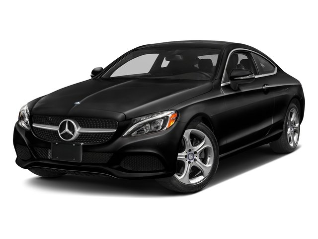 Obsidian Black Metallic 2017 Mercedes-Benz C-Class Pictures C-Class Coupe 2D C300 AWD photos front view