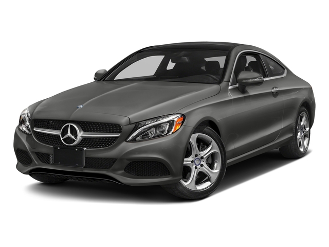 designo Selenite Grey Magno (Matte Finish) 2017 Mercedes-Benz C-Class Pictures C-Class Coupe 2D C300 AWD photos front view