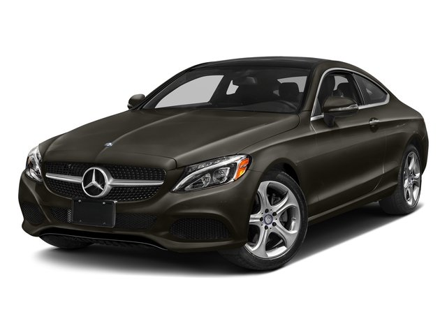 Dakota Brown Metallic 2017 Mercedes-Benz C-Class Pictures C-Class C 300 Coupe photos front view