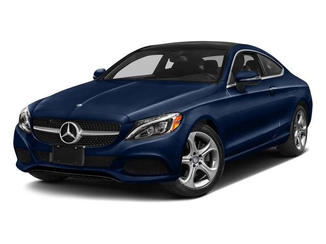 Brilliant Blue Metallic 2017 Mercedes-Benz C-Class Pictures C-Class Coupe 2D C300 AWD photos front view