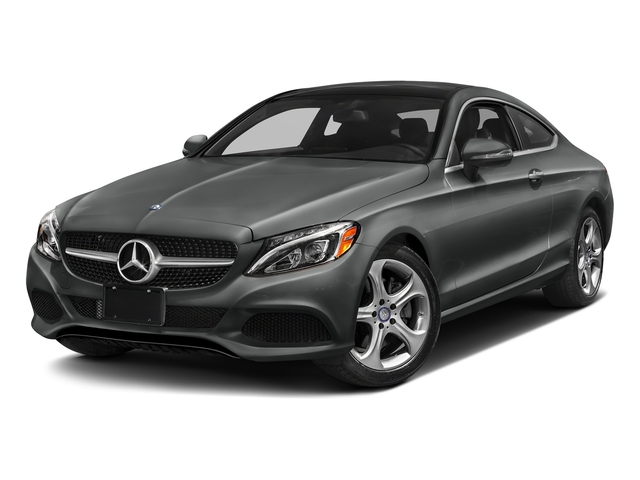 Selenite Grey Metallic 2017 Mercedes-Benz C-Class Pictures C-Class C 300 Coupe photos front view