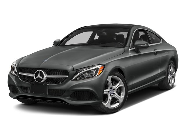 Selenite Grey Metallic 2017 Mercedes-Benz C-Class Pictures C-Class Coupe 2D C300 AWD photos front view