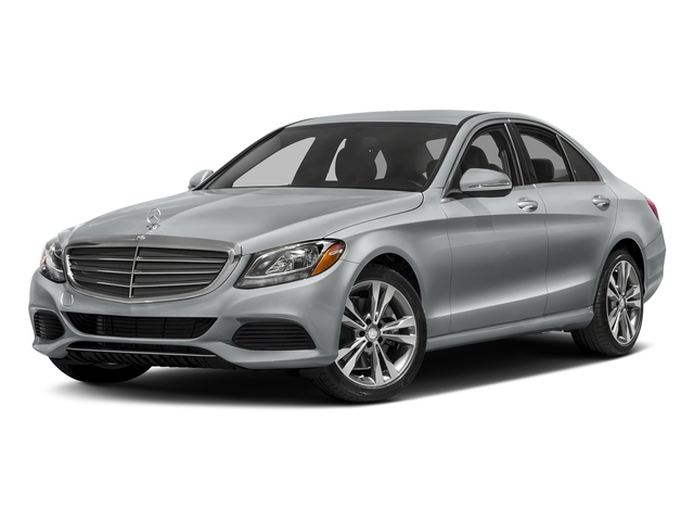 Iridium Silver Metallic 2017 Mercedes-Benz C-Class Pictures C-Class Sedan 4D C300 AWD I4 Turbo photos front view