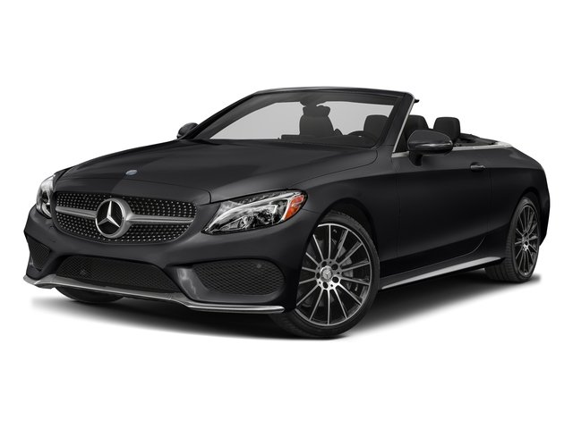 Black 2017 Mercedes-Benz C-Class Pictures C-Class Convertible 2D C300 AWD I4 Turbo photos front view