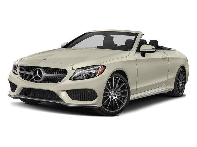 designo Diamond White Metallic 2017 Mercedes-Benz C-Class Pictures C-Class Convertible 2D C300 AWD I4 Turbo photos front view